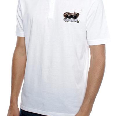 Bees1 - Golf Shirt - White