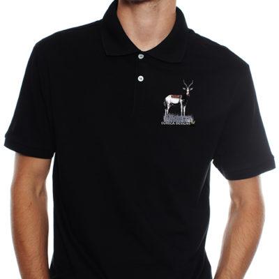 Blesbok1 - Golf Shirt - Black