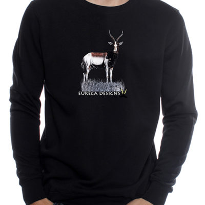 Blesbok1 - Sweater - Black