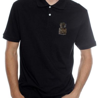 Bobbejaan1 - Golf Shirt - Black