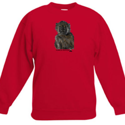 Bobbejaan1 - Kids Sweater - Red