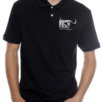Buffel1 - Golf Shirt - Black