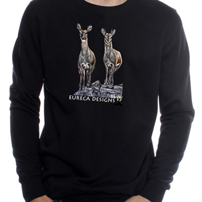 Klipspringer1 - Sweater - Black