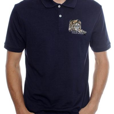 Leeu1 - Golf Shirt - Navy