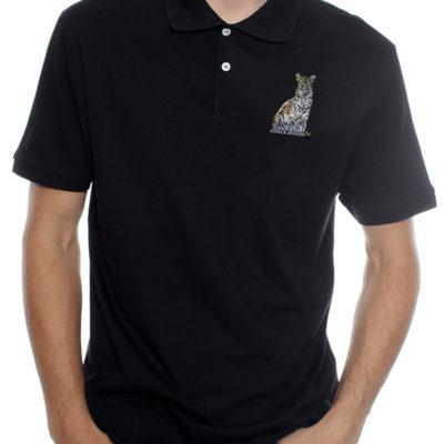 Luiperd1 - Golf Shirt - Black