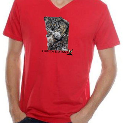 Nagapie1 - Mens V-Neck - Red