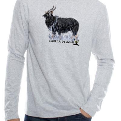 Njala2 - Long Sleeve - Grey Melange
