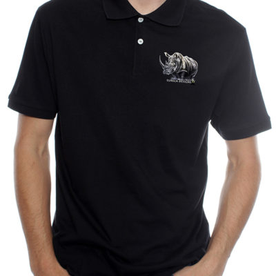 Renoster1 - Golf Shirt - Black