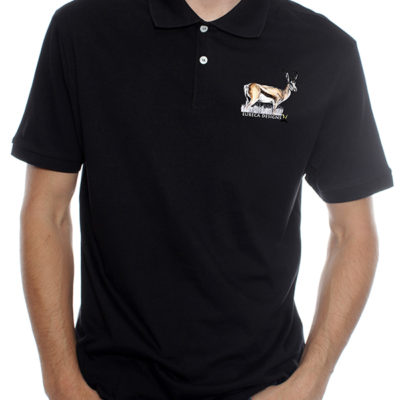 Springbok1 - Golf Shirt - Black