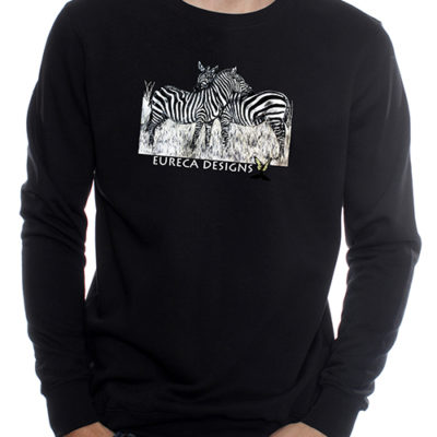 Zebras1 - Sweater - Black